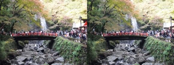 箕面大滝①(平行法)