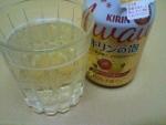 キリン「キリンの泡 ホット芳醇アップル&ホップ」