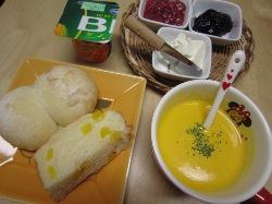 パンプキンスープ(朝食)