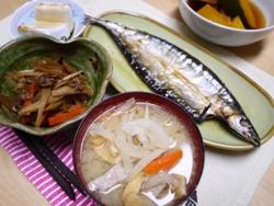 さんまの干物 2013-7-25