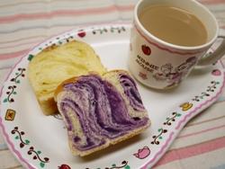 あんマーブル食パン 2013-10-31