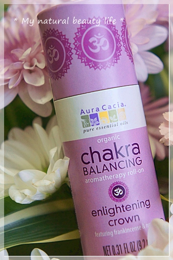 iHerb Aura Cacia, Organic Chakra Balancing Aromatherapy Roll-on, Enlightening Crown