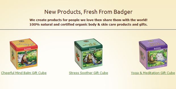 Badger, Gift Cube