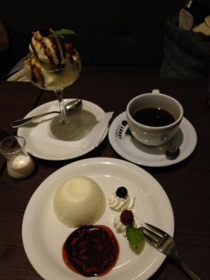 東京LOBBY チーズケーキ+アイス+コーヒー