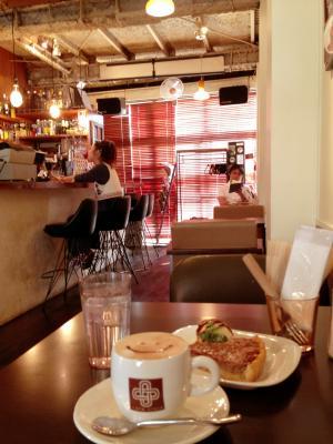 cafe croix 雰囲気