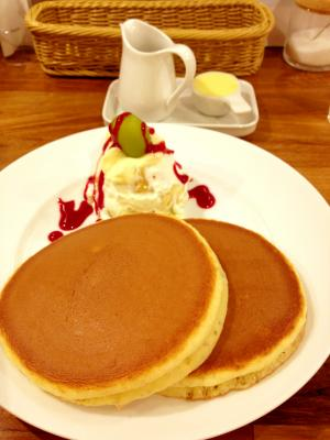 Fru-full フルーツクリームホットケーキ