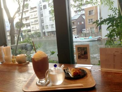 Cafe de 映水庵 雰囲気