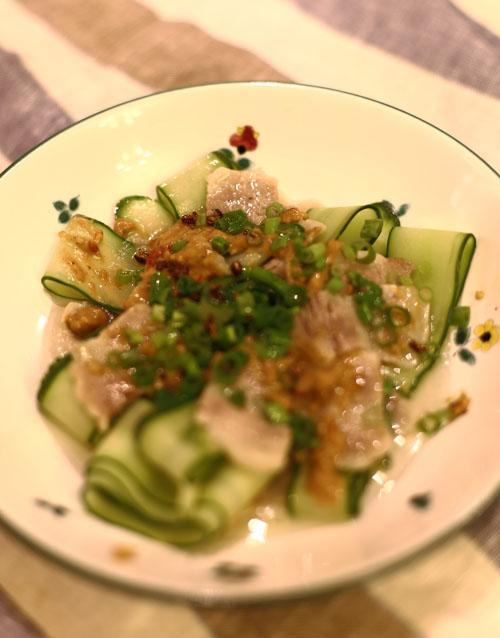豚バラ 薄切り 冷菜