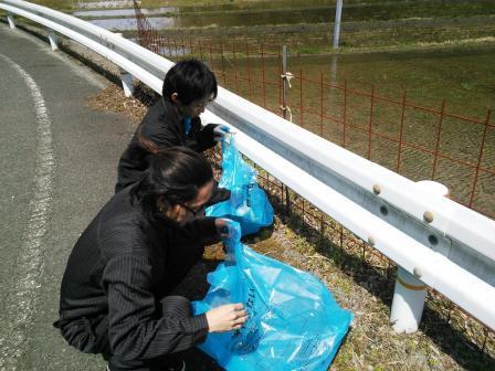 河川清掃②