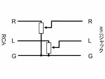 aitendo 液晶 RCA ミニジャック 回路