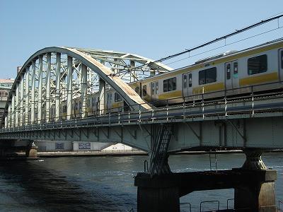 浅草橋 隅田川 総武線