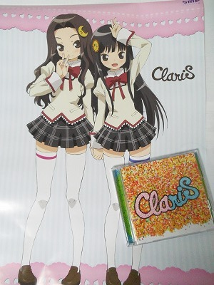 ClariS カラフル 魔法少女まどかマギカ ポスター
