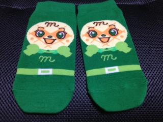 メロンパンナちゃん靴下