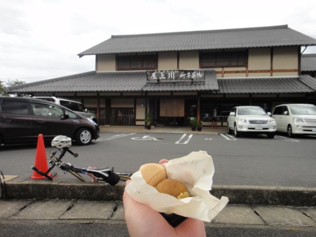 川上屋で栗菓子Get。栗きんとんは次回の楽しみに。