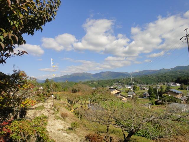 岩村茶寮から恵那山