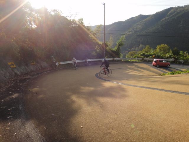 丸山ダムからの登り1