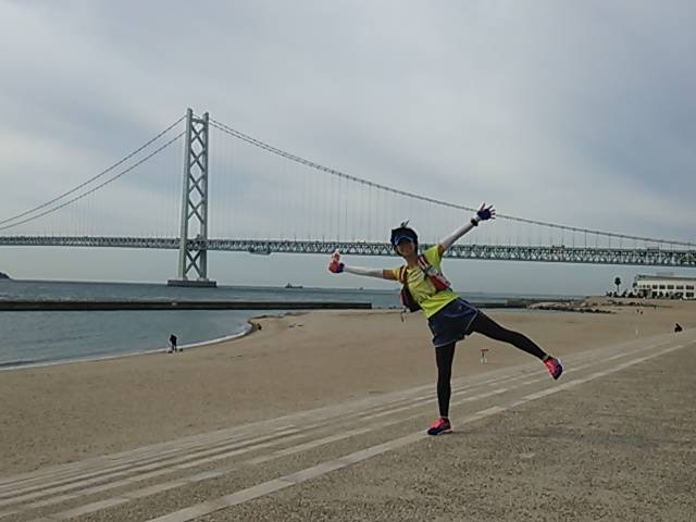 神戸試走明石海峡大橋