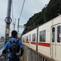 神戸試走電車そば