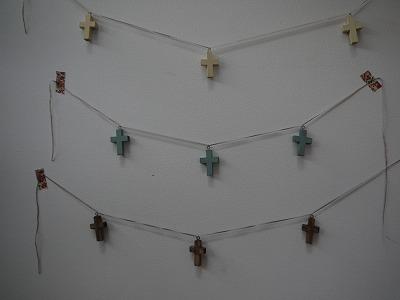 7月17日十字架ガーランド