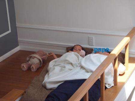 ロフトで昼寝2