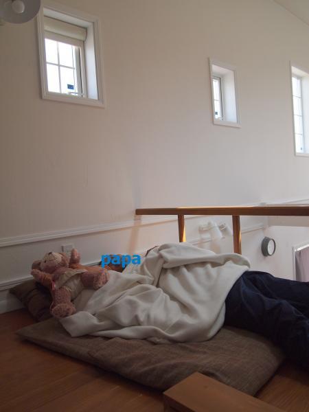 ロフトで昼寝5