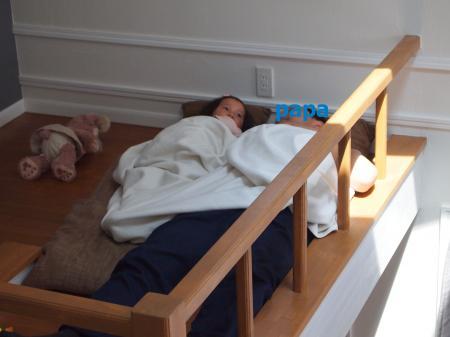 ロフトで昼寝3