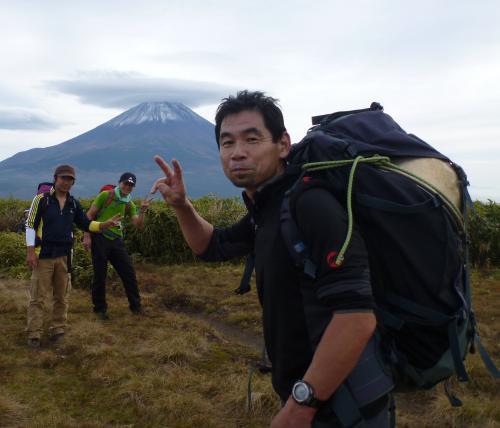 山頂到着(2)