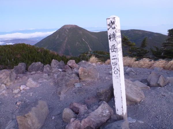 北横岳山頂(2)