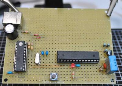 温湿度計基板