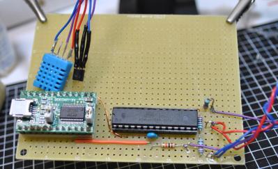 温湿度計基板2