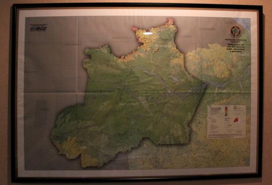 ブラジル地図1