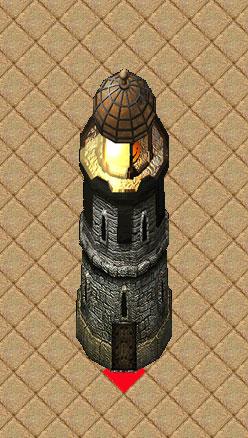 pub84侵攻のミナクスの灯台と同グラフィックです。