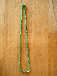beads ネックレス green (1)