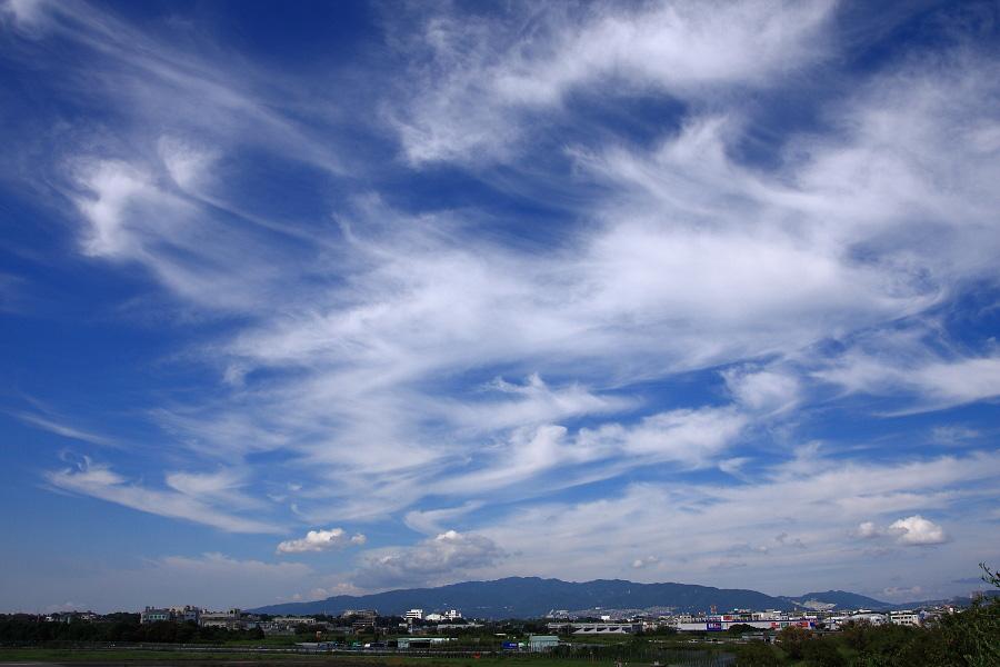 今日の空@下河原緑地展望デッキ