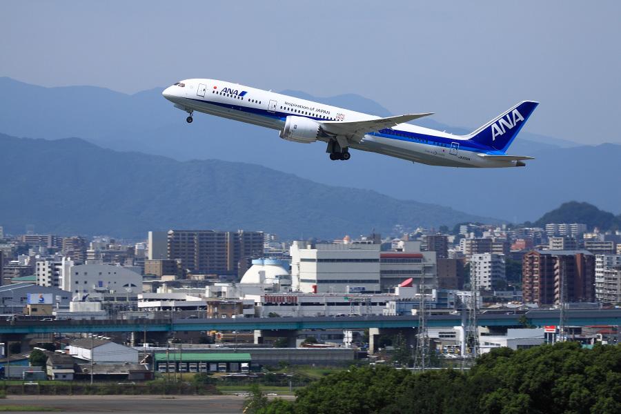 ANA B787-9 / ANA248 (JA830A)@アクシオン福岡
