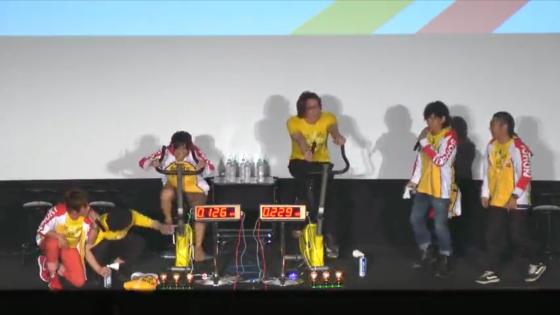 アニメ「弱虫ペダル」 先行プレミア上映会 トークパート