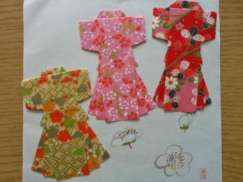 飛行機 折り紙:折り紙 着物 折り方-nihhic.blog.fc2.com