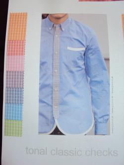 キャジュアルシャツ