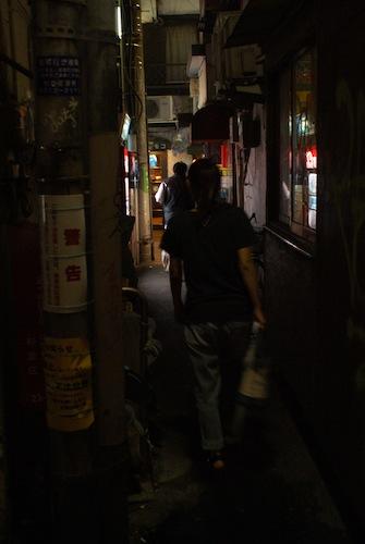 高円寺路地裏