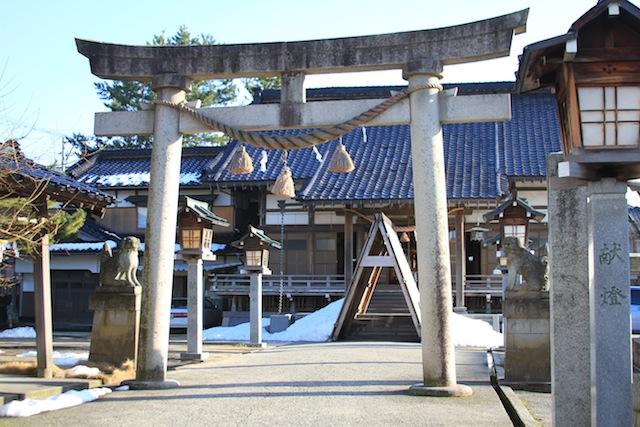 氷見の神社