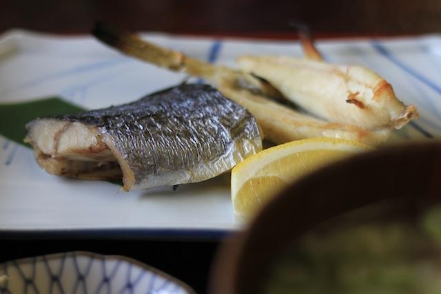 海寶 焼き魚定食
