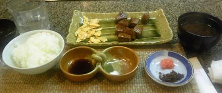 626ステーキご飯セット