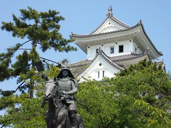 大垣城と何方??