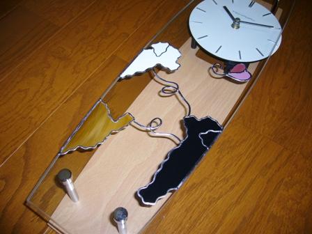 振子時計 トイプードル3