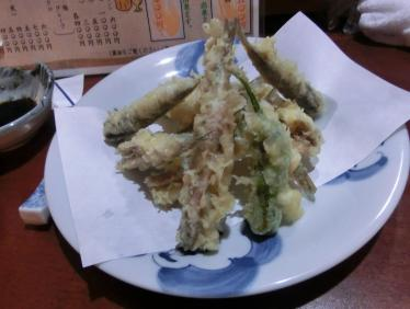 小イワシの天ぷら