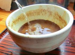 割スープ投入