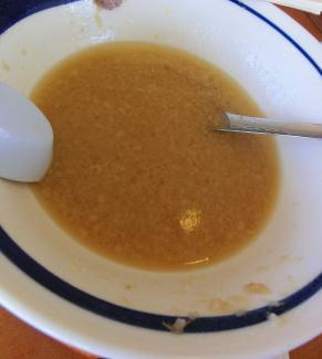 スープ(おわり)