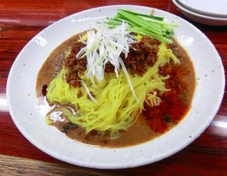芝麻醤麺(ゴマ味噌麺スープ無し)