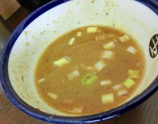 スープ割後