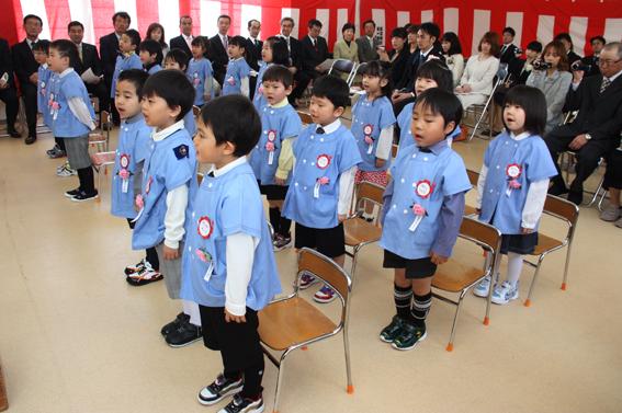 20130409沼田幼稚園入園式